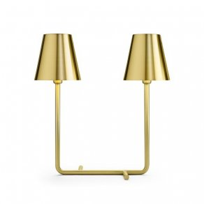 Ghidini 1961 - Bio - Aldo Cibic - table lamp - Satin brass