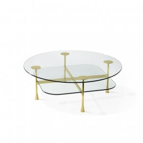 Ghidini 1961 - Da Vinci Table - Richard Hutten - table - Brass polished