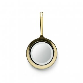 Ghidini 1961 - Frying Pan -Studio Job - mirror - Polished gold