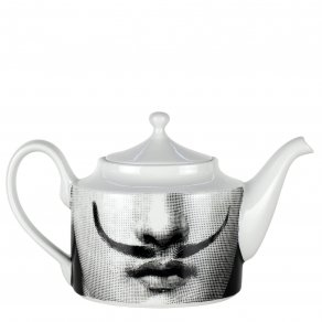 Fornasetti - Tea pot Tema e Variazioni n°21 black/white - konvice