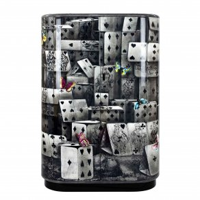 Fornasetti - Curved cabinet Notturno colour