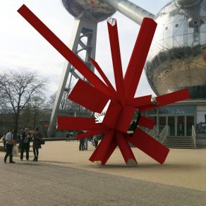 Arik Levy - RockGrowth Atomium Brussel