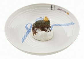 Nymphenburg - Bowl with frog - Hella Jongerius, 2012 - miska