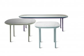 Secretaria desk - Flutes Table