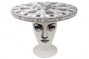 Fornasetti - Table Architettonico black/white - stůl