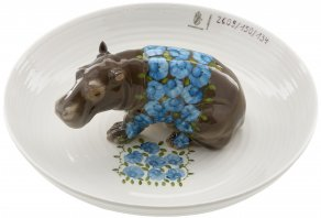 Nymphenburg - Bowl with hippopotamus - Hella Jongerius, 2004 - mísa