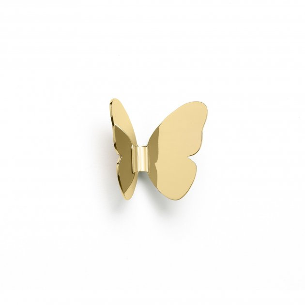 Ghidini 1961 - Single Butterfly - Richard Hutten - věšák na kabát - Brass polished