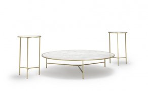 Sé - Smoke Side Tables, Smoke Coffee Table 1m (curium)