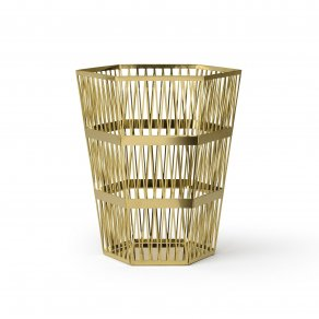Ghidini 1961 - Tip Top Waste Bin - Richard Hutten - waste bin - Brass polished