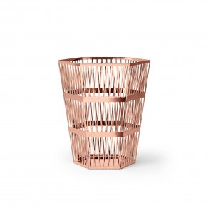 Ghidini 1961 - Tip Top Waste Bin - Рихард Гуттен — корзина small - Rose gold