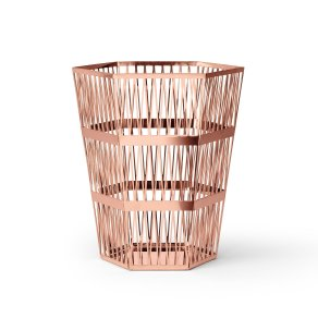Ghidini 1961 - Tip Top Waste Bin - Рихард Гуттен — корзина large - Rose gold